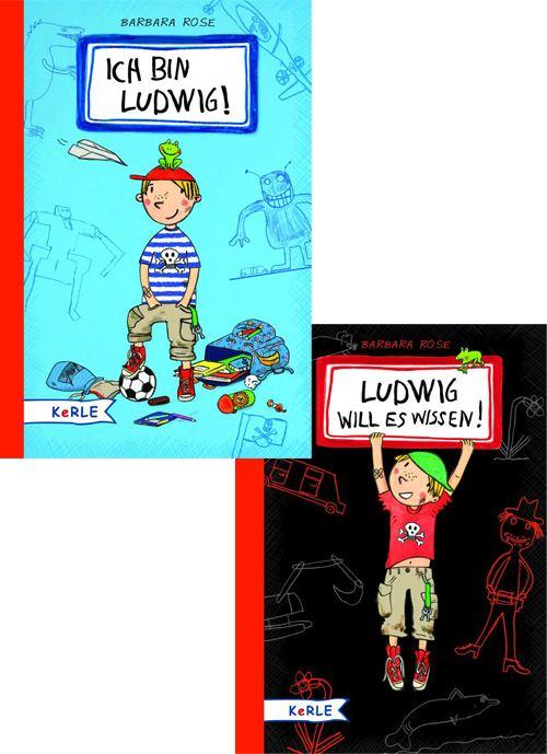 Ich bin Ludwig/Ludwig will es wissen. 2 Bände